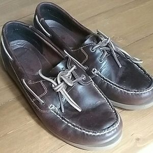 Womens Timberland 10m leather Mocs earthkeepers